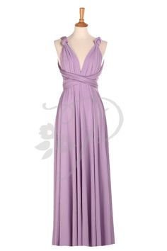 De Dama de honor vestido infinito Bubblegum piso longitud abrigo Convertible vestido vestido de novia