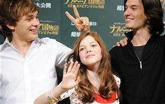 Ben Barnes, Georgie Henley, William Moseley