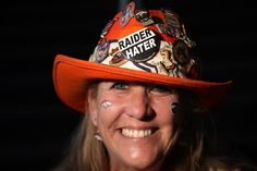Jenny Hoffman, of Denver, Colo., poses for a portrait before Super Bowl 50 at Levi's Stadium in Santa Clara, Calif., on Feb. 7, 2016. (Dai Sugano/Bay Area News Group)