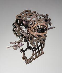 """Robert Longyear  Original work using urban detritus  Robert is the """"Real Deal"""" in urban art"""