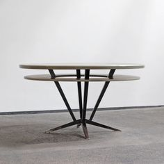 Dining Table - industrial design - 1960s >> www.b22design.nl