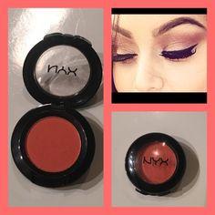 "NYX single shadow in ""LOL"" Gorgeous orangy shade...great transition color! Makeup Eyeshadow"