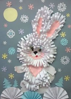 VK is the largest European social network with more than 100 million active users. Easter Crafts For Kids, Preschool Crafts, Diy For Kids, Art N Craft, Craft Work, Spring Art, Spring Crafts, Diy And Crafts, Arts And Crafts