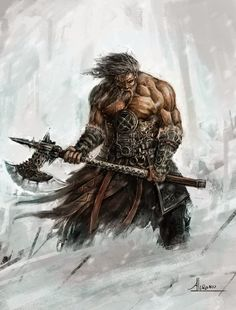 modern day vikings warriors pictures and images Fantasy Warrior, Fantasy Rpg, Medieval Fantasy, Dark Fantasy, Vikings, Fantasy Artwork, Character Portraits, Character Art, Viking Character