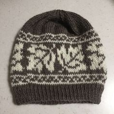 Ravelry: Maple Leaf Hat pattern by Catherine Wolf