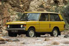 The Original Luxury SUV -- the 1971 Range Rover