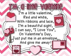 Your students are sure to LOVE this sweet Valentine's Day Pocket chart poem/activity for your classroom!