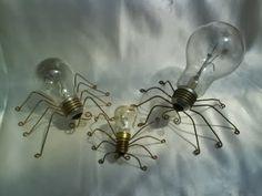 Arañas bombilla.