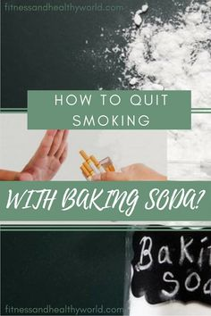 #quit #smoking #bakingsoda #health