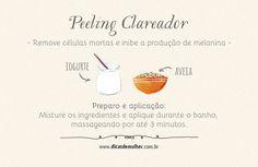 Conheça receitas de peelings caseiros incríveis que ajudam a limpar e renovar a pele, deixando-a menos oleosa, mais bonita e rejuvenescida.