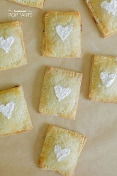 Homemade pop tarts | SMP   love the hearts