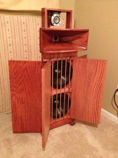 DIY Open Baffle Speakers With Horns