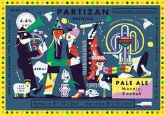 Partizan Brewing - Pale Ale G000-126