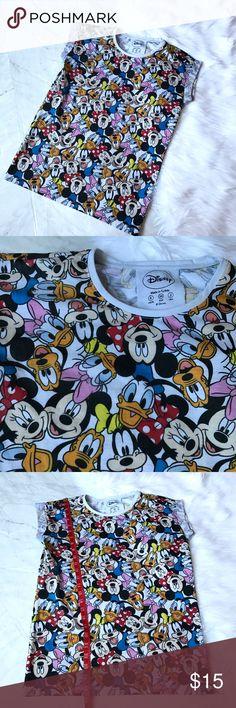 Disney Mickey Mouse tee Sz 2 Disney tee. Sz 2. Good condition. Disney Tops Tees - Short Sleeve