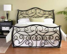 Iron bed, Indus Bed by Wesley Allen