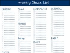 New Year's Not New Diet & Free Grocery List Printable