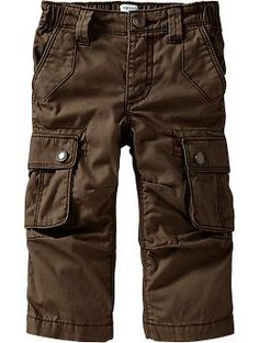 Canvas Cargos for Baby - i love these!