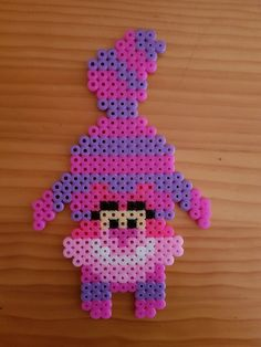 Gato de Cheshire hama Hama Beads Disney, Diy Perler Beads, Perler Bead Art, Pearler Beads, Disney Hama Beads Pattern, Hama Disney, Melty Bead Patterns, Pearler Bead Patterns, Perler Patterns