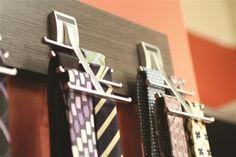 Tie Rack Adjustable Tie Hanger Holds 20 Neck Ties Tie Organizer