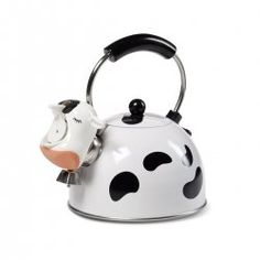 We all love gifts that make us smile, don't we? This cow tea kettle is a fun, lighthearted, yet practical way to say Merry Christmas or Happy...