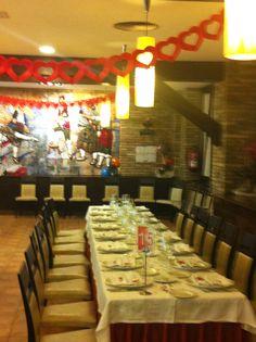 Preparación de San Valentín en Hotel el Aguila Zaragoza