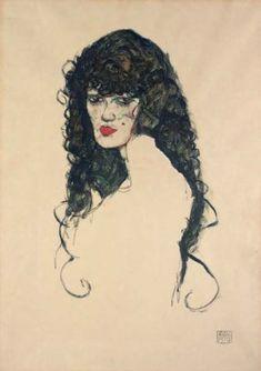 egon schiele frauenportrait portrait of a woman egon schiele