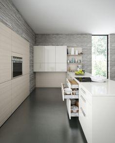 Leicht Kitchen through CGI | Inspirations Area