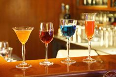 Innovative cocktails and mock-tails served on board Maharajas Express.