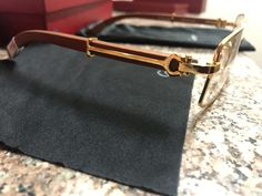 Cartier glasses for Sale in Los Angeles, CA - OfferUp Rimless Frames, Hermes Kelly, Cartier, Buy Now, Jewelry Accessories, Buy And Sell, Brand New, Glasses, Wood