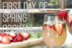 How to Sip Our Cocktail of the Month in Spring Style | Living Spaces