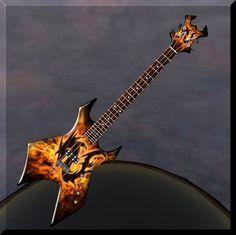 BC Rich Warlock Bass Custom