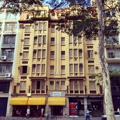 Hotel Itamarati na Avenida Dr. Vieira de Carvalho, na região do Arouche.