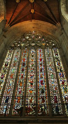 The Jesse Window at Selby Abbey is generally thought to be the second finest…