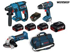 Promozione 2016 Bosch Professional GBH18 V-EC   GSB18 V-LI   GWS18 V-LI   borsone