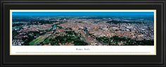 Rome, Italy  Skyline Picture - Panoramic Picture $199.95