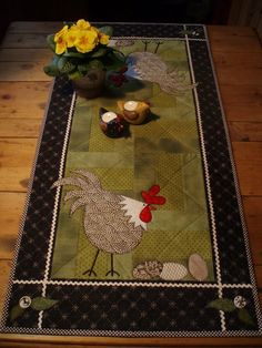 Image result for round quilted table runners