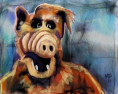 Every now and then a work emergency arises that can only be solved with a drawing of Alf. Is your job this cool? Made with deviantART muro