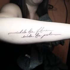 inhale exhale tattoo - Google Search