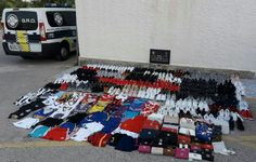GRO SEIZE COUNTERFEIT GOODS IN TORREVIEJA - http://www.theleader.info/2017/07/21/gro-seize-counterfeit-goods-torrevieja/