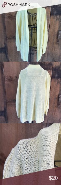 Merona Light Blue Shrug Sweater Lightweight open front shrug ...