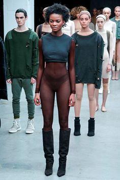Kanye West x Adidas Originals, Look - Yeezy Season 1 Fall / Winter 2015 / 2016 show during New York Fashion Week Kanye West Adidas Yeezy, Kanye Yeezy, Fashion Show, Fashion Outfits, Fashion Design, Boy Fashion, Yeezy Season 1, Yeezy Fashion, Style Urban