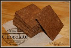 After the polling closed, Chocolate Graham Crackers won out over the Cheddar Crackers! I have not met many people who do not like chocolate but I do know… Low Carb Sweets, Low Carb Desserts, Gluten Free Desserts, Candida Recipes, Low Carb Recipes, Whole Food Recipes, Free Recipes, Cooking Keto With Kristie, Graham Cracker Recipes