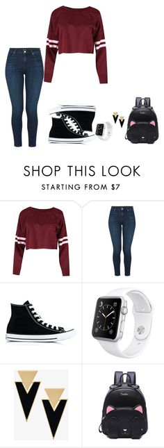 """how to wear converse"" by dubstepfreak on Polyvore featuring J Brand, Converse, Apple and Yves Saint Laurent"