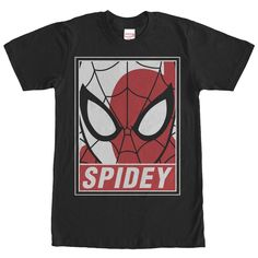 Marvel Men's - Spider-Man Portrait T Shirt #Marvel #comics #spiderman #spidey