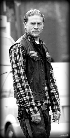 Jax--the only man in baggy pants that's hot! LOL.