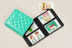 Colorful Diamond PU Leather Fuji Instax Mini Films Photo Album Mini 7s/8/25/50 (Mint)