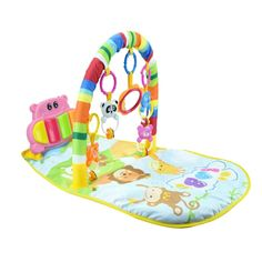 Durable Baby Activity Gym Multifunctional Premium Cartoon Play Mat Piano Fitness Frame Pedal Music Blanket for Newborns Baby Activity Gym, Toys For Tots, Best Kids Toys, Toys Shop, Infant Activities, Toy Store, Baby Month By Month, Newborns, Multifunctional