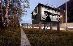Projeto propõe transformar outdoors em pequenas moradias - Notícias - LUGARCERTO