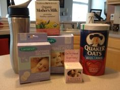 Breastfeeding gift basket - love this idea for new mommies :-)