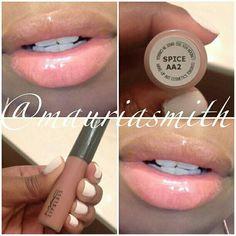 "Mac ""Spice"" lip gloss"